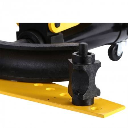 10 Ton Manual Hydraulic Pipe Bending Machine Tube Bender 4 Inches With Legs