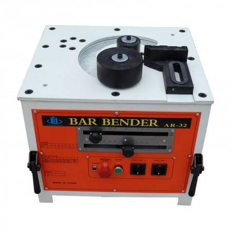 RB-25 portable electric steel bending machine precision positioning double angle double switch precision bending machine