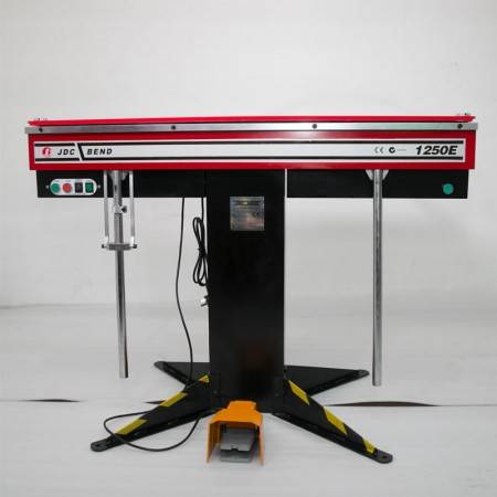 Electric sheet metal magnetic bending machine with hot sales