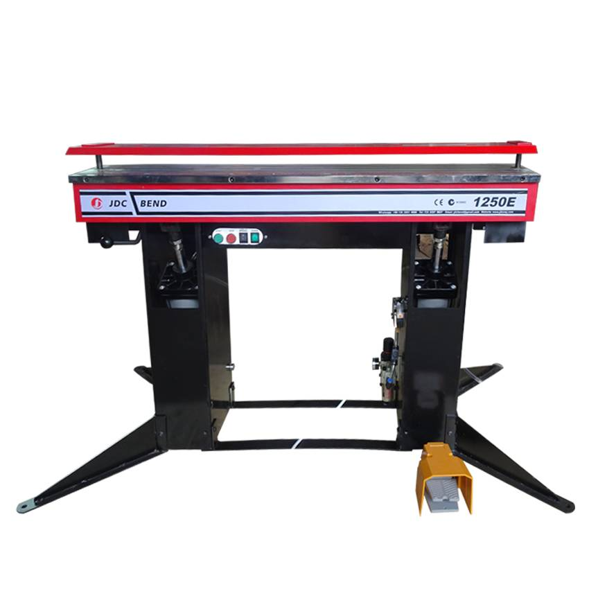 1250E Electric Magnetic Sheet Metal Pan and Box Folding Machine Featured Image
