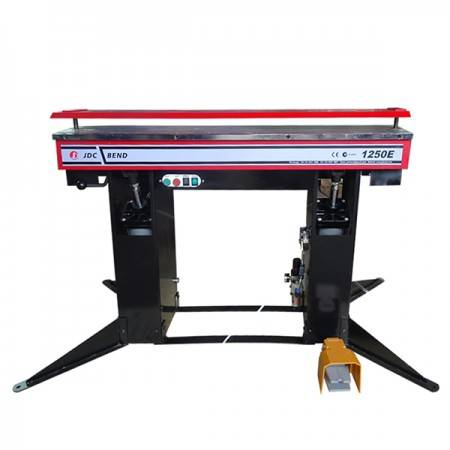 1250E DOUBLE E-TYPE MAGNET BODY Powered 1250mm x 2.0mm Electromagnetic Sheet Metal Folding Machine