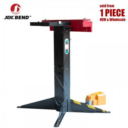 JDCbend Pneumatic 650E magnetic sheet metal bending machine, pneumatic magnetic bender