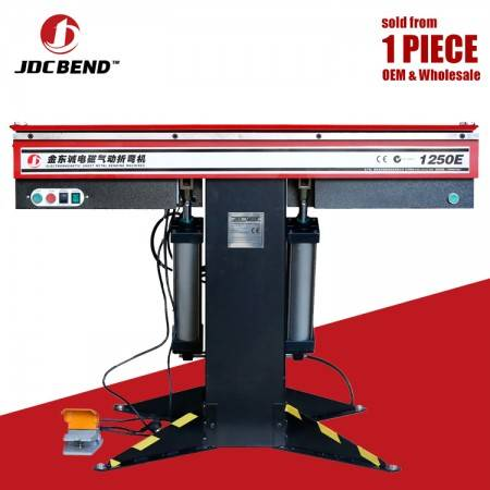 JDC bend model 1250E electromagnetic pneumatic sheet metal bending machine