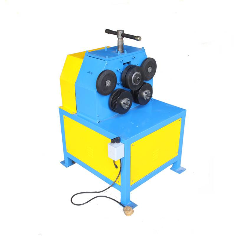 Electric angle iron roller steel ring roll forming machine flanging making Machine Featured Image