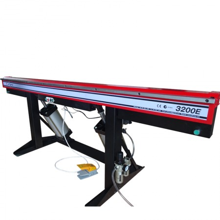 Pneumatic sheet metal edge folding machine , new type pneumatic bending machine for HVAC duct , folding machine