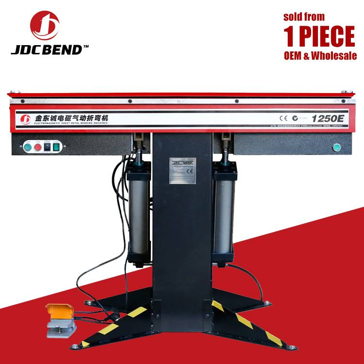 Tools 72″ Industrial Sheet Metal Hand Brake Bender Plate with Stand Bends up to 22 Gauge with 0-120 Degree Bends Featured Image