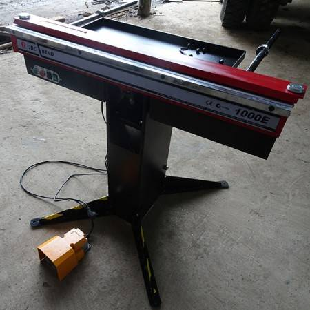 1000E pneumatic pneumatic sheet metal bending machine , box and pan brake, automation magnetic bender