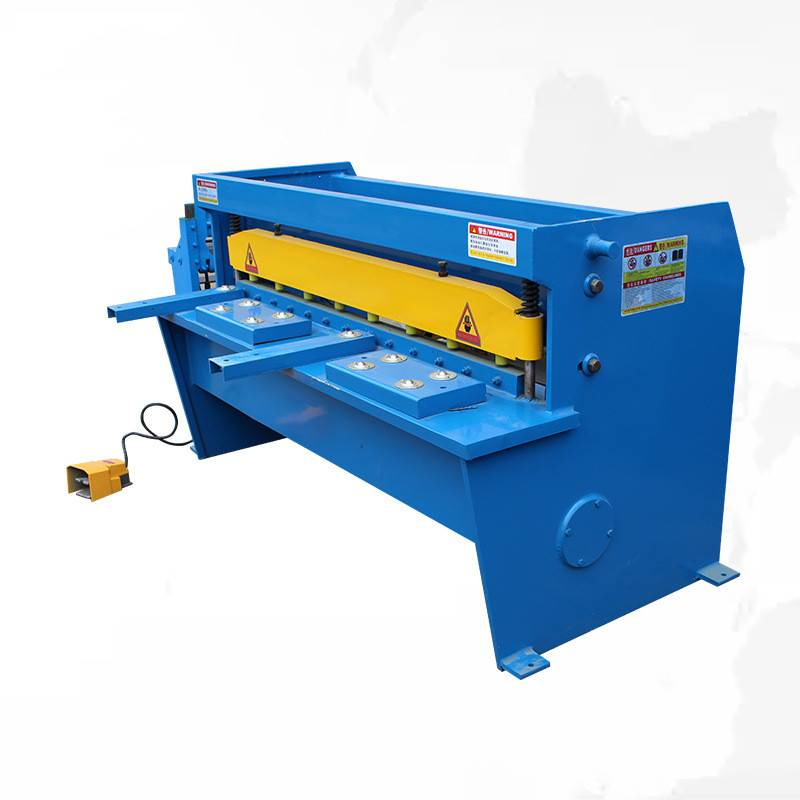 Sheet Metal Shear, Small Mechanical Guillotine, Electric Shearing Machine For Cutting Steel Plate 3*2000mm Featured Image