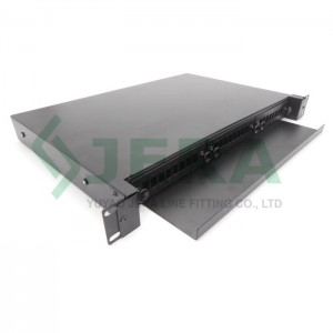 19′ Rack mount fiber optic distribution frame (ODF) 1U-24-SC-S