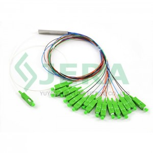 1×16 PLC Fiber Splitter, Mini Module, 0.9 mm, SC/APC