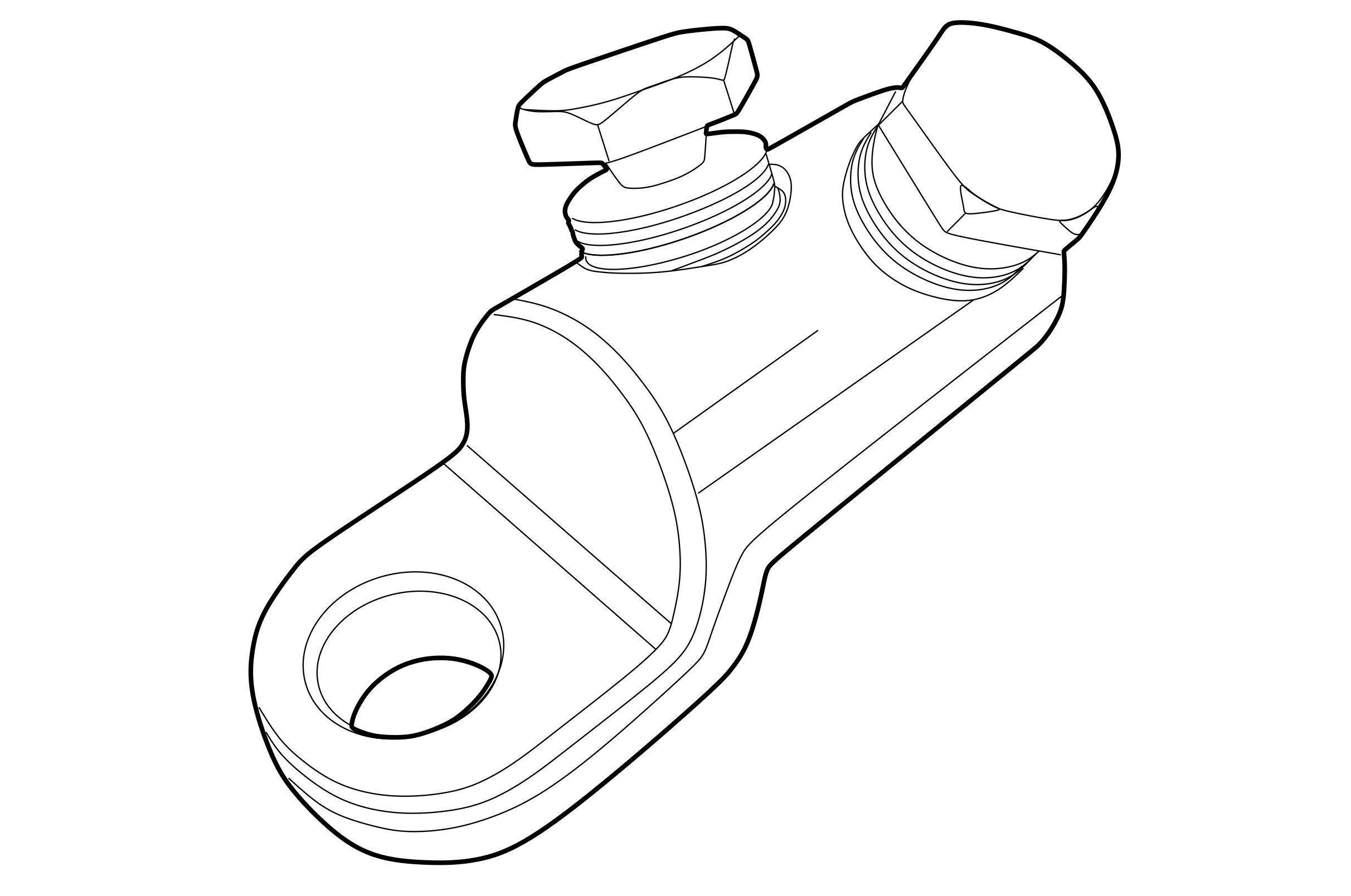 SHEAR-HEAD CABLE LUGS AND CONNECTORS