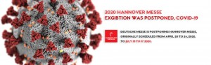 NOTIFICA POSTICIPATA DI HANNOVER MESSE 2020