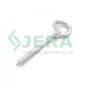Pigtail hook screw, PS-8