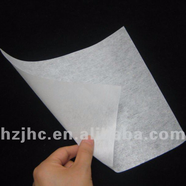 Nonwoven shirt collar interlining
