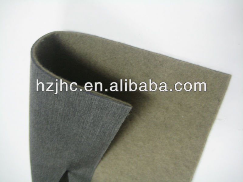 China Manufacturer for Knitting Suede Fabric - needle punched car headliner nonwoven fabric – Jinhaocheng