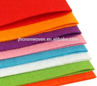 China Cheap price Designer Car Interior Fabric - Colored polyester needle punched DIY felt fabric used handmade bag – Jinhaocheng