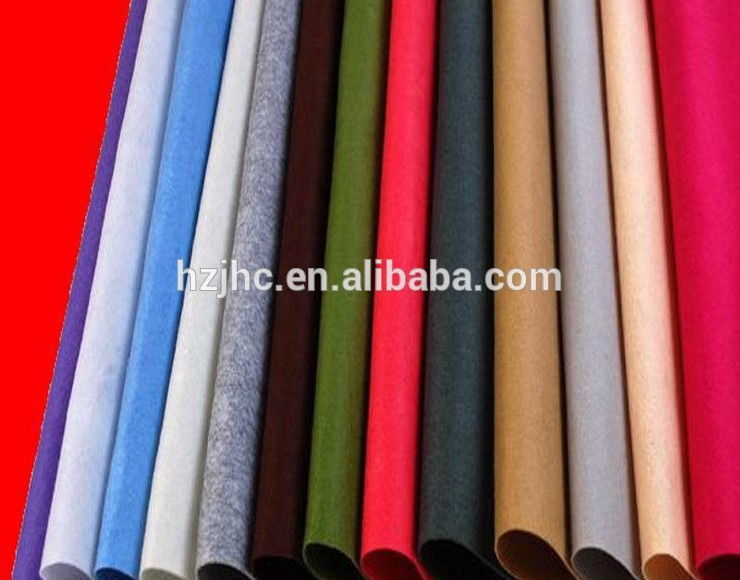 Best-Selling Lamineted Nonwoven - Polyester printed needle punched soft DIY craft non-woven felt fabric sheets/rolls – Jinhaocheng