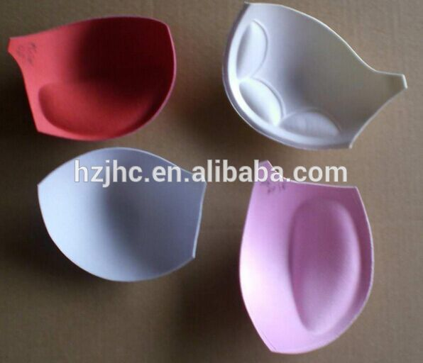 Eco friendly laminated moldable bra cup foam