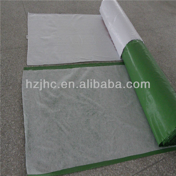 Cheap bulk PP/PE film polyester non woven laminated fabric roll