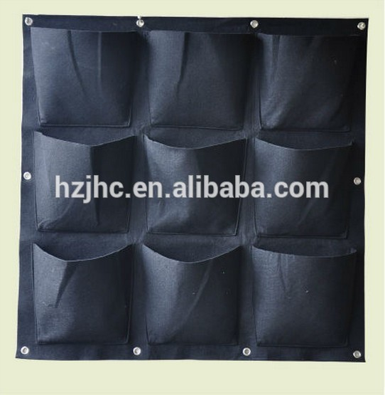 hydroponic garden non woven fabric felt vertical wall planter grow bag Featured Image