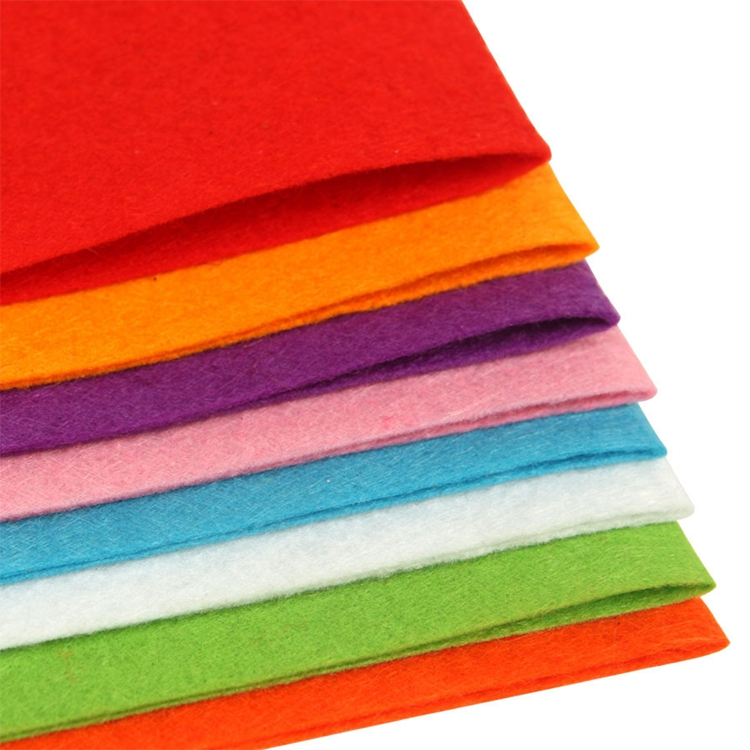 5mm-10mm non-woven fabric colored felt