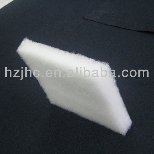 nonwoven thermal bonded single dot fusible interfacing 100% polyester fabric