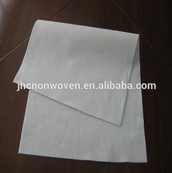 Needle punched nonwoven stainless steel fiber metal felt filter bag