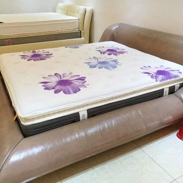 Luxury cotton-padded spring mattress felt bed mattress