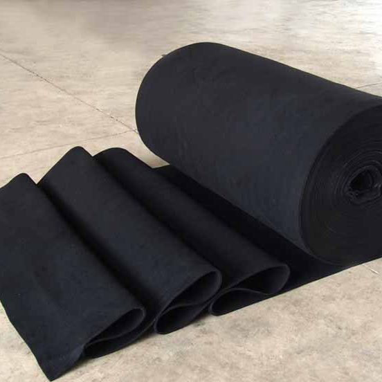 OEM Manufacturer Waterproof Softshell Jacket Fabric - Flame retardant polyester nonwoven carpet base felt cloth fabric – Jinhaocheng