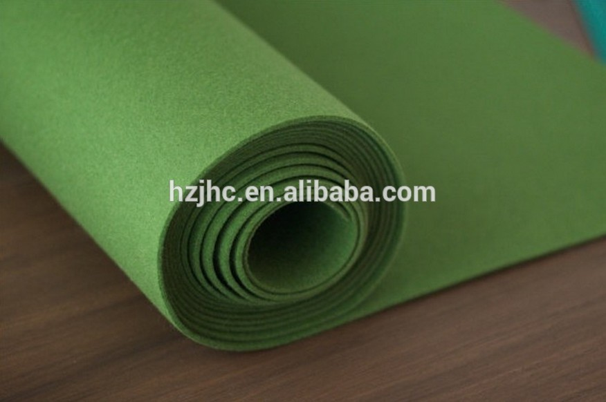 Nonwoven polyester plain 3d floor carpet