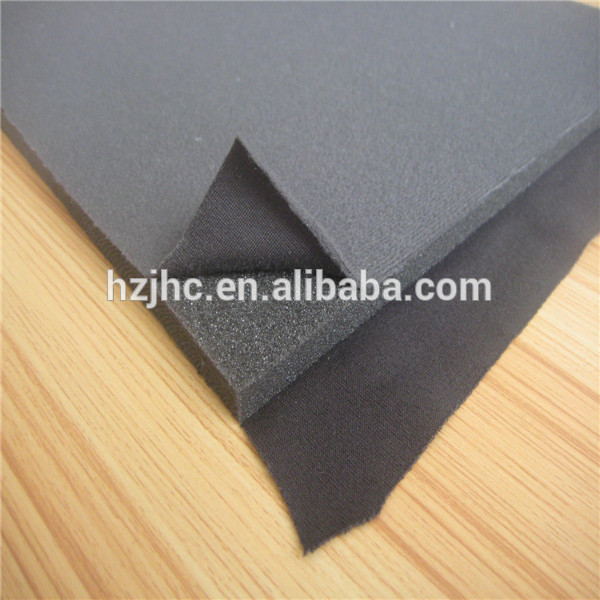 Environmental sponge fabric for bra pad/bra cup