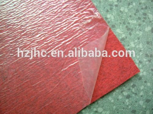 Bulk polyester PP/PE film coating non woven padding/cover fabric supplier