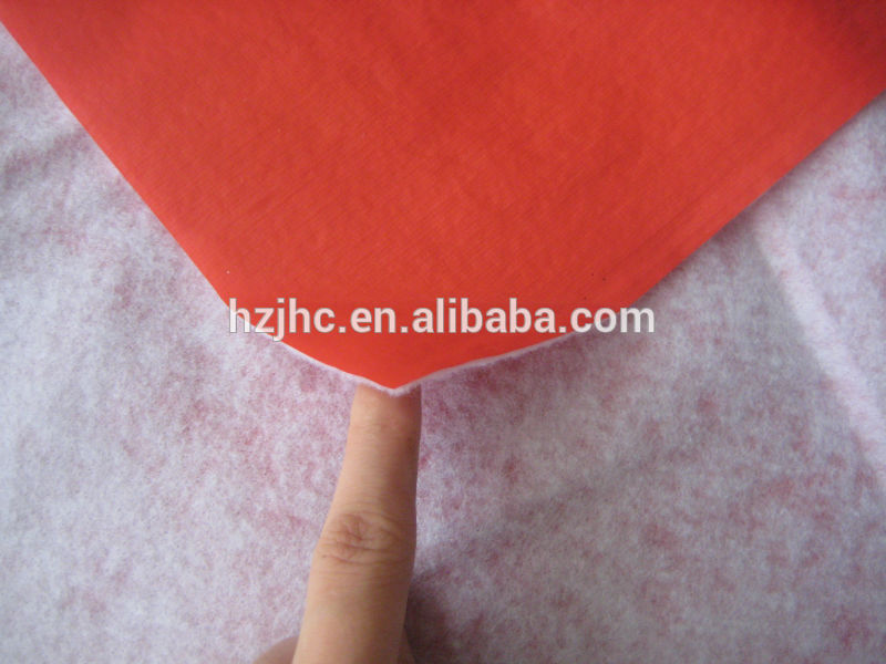 Printed PP/PE/PVC film lamination polyester non-woven felt fabric supplier