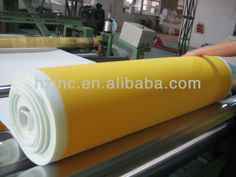 Needle-punched nonwoven technics manufacturer laminating non-woven fabric