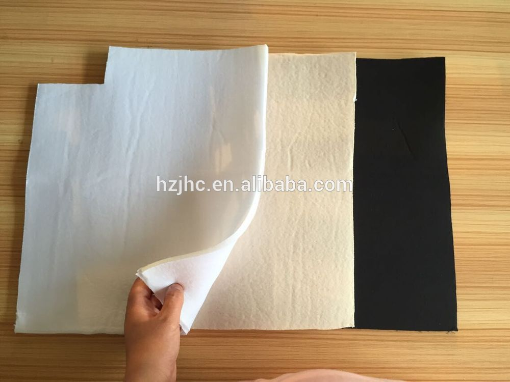 Environmental laminated foam fabric bra pad/bra cup