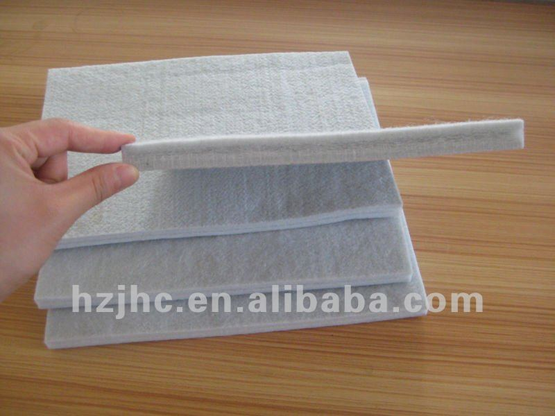 Needle punched nonwoven thermobonded polyester felt bed sheets