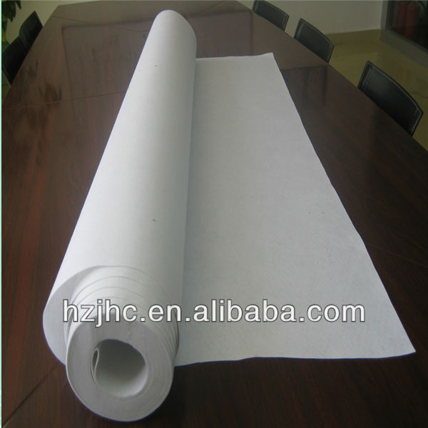high quality polyester staple fiber nonwoven geotextile
