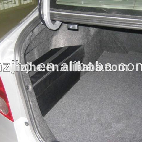Needle punched polyester nonwoven automotive felt fabric