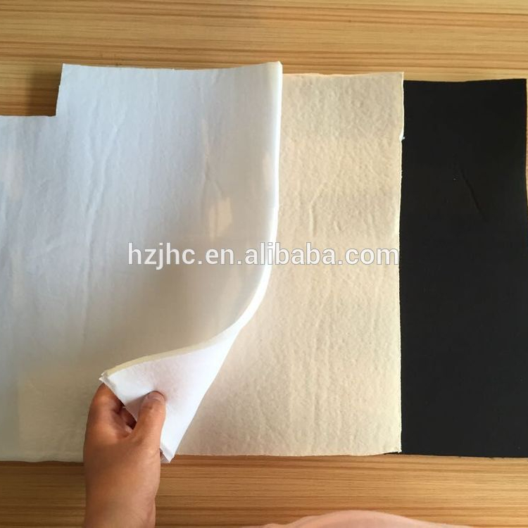 Environmental sponge laminated with cotton fabric for bra cup material