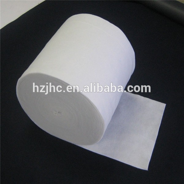 Polyester non woven roll filter cloth