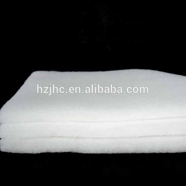 Wholesale Thermal Bonding Nonwoven Fireproof Fabric Fireproof Non-glue Cotton Batting