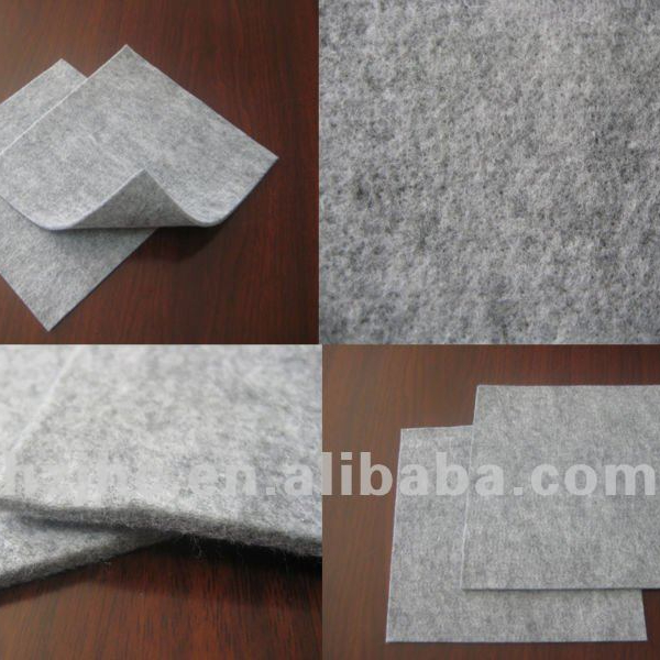 Needle punched nonwoven fabric car seat cushion