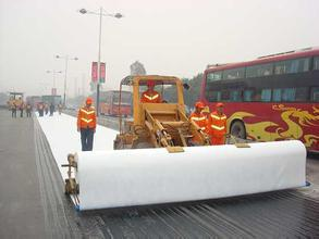 Needle Punch pp Non woven Geotextile Fabrics for road base material