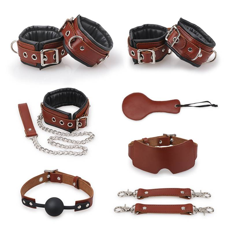 Halisi Leather Bondage 8 Kits PZ-796