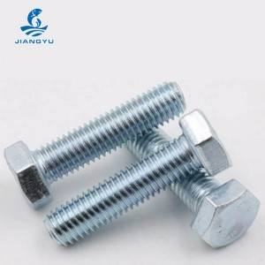 Galvanized bolt