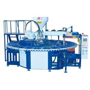 JIC724AJ én farge PVC Air Blowing Machine