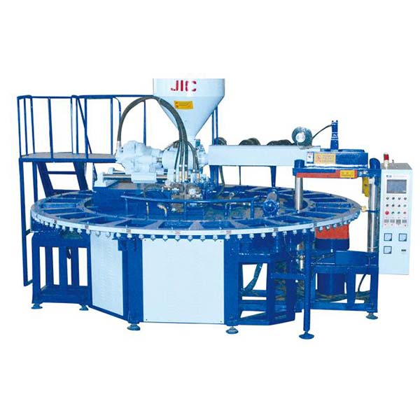 JIC724AJ One Color PVC Air Blowing Machine Featured Image