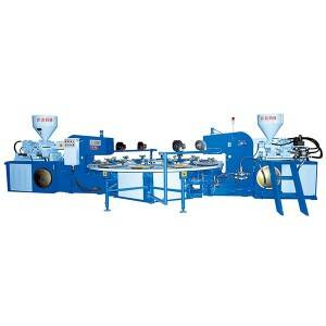 JIC516 Two Color TPR Sole Injection Molding Machine