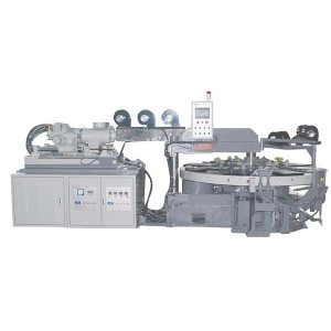 JIC208E Satu Warna EVA Dingin Mold Injection Molding Machine