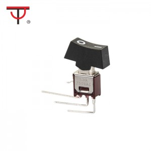 Sub-Miniature Rocker And Lever Handle Switch SRLS-102-C4H